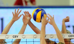 ZRENJANIN, SERBIA - SEPTEMBER 25: A general view during the women Volleyball European Championship match between Poland and Czech Republic on September 25, 2011 in Zrenjanin, Serbia. (Photo by Dino Panato/Getty Images)